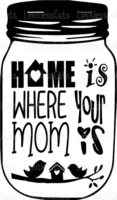 Free To get these great designs, all you have to do is download the free.svg files at the bottom of this post (if you are reading this in the blog feed, the downloads won't appear until you. Home Is Where Your Mom Is Svg Png Jpg Dxf Mothers Day Svg Mothers Day Sign Grandmothers Day Limitlesscuts SVG, PNG, EPS, DXF File